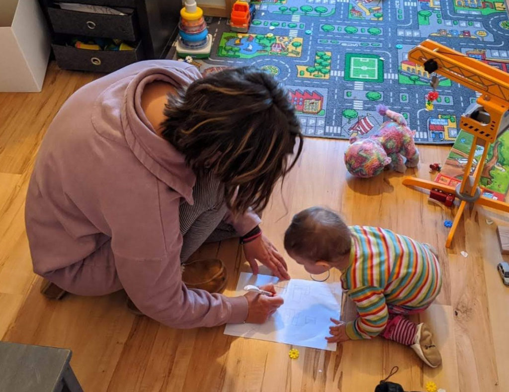 Gruppencoaching Mama und Baby