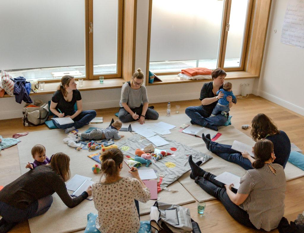 Gruppencoaching Mamas und Babys